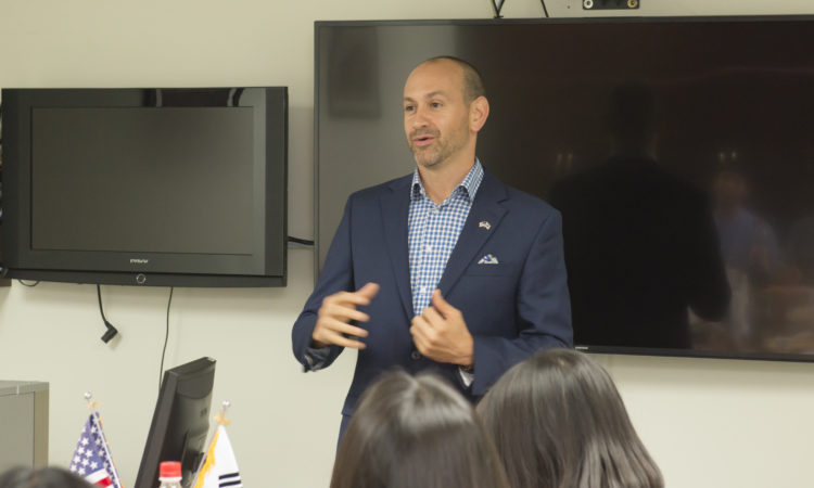 Consul Addresses Life and Career As a U.S. Diplomat