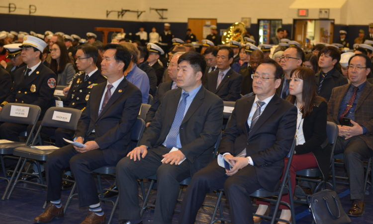 Consul Attends Change of Command Ceremony at U.S. Fleet Activities Chinhae