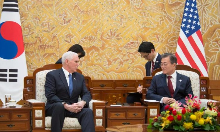 Remarks by Vice President Pence and President Moon of the Republic of Korea Before Bilateral Meeting