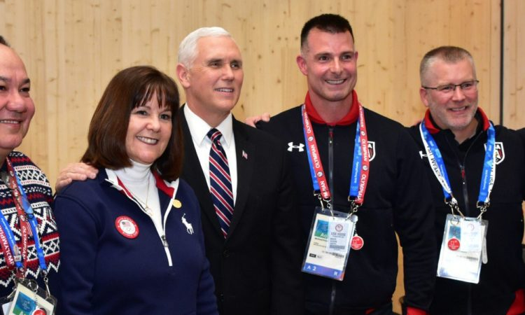 Vice President Mike Pence Visits USA House in PyeongChang