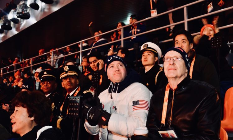 Chargé d'Affaires Attends Closing Ceremony of 2018 PyeongChang Paralympic Winter Games