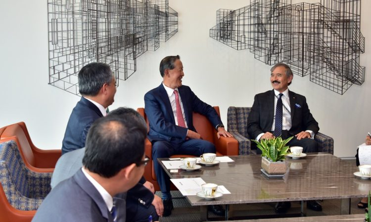 Ambassador Harry Harris Pays Courtesy call on Federation of Korean Industries