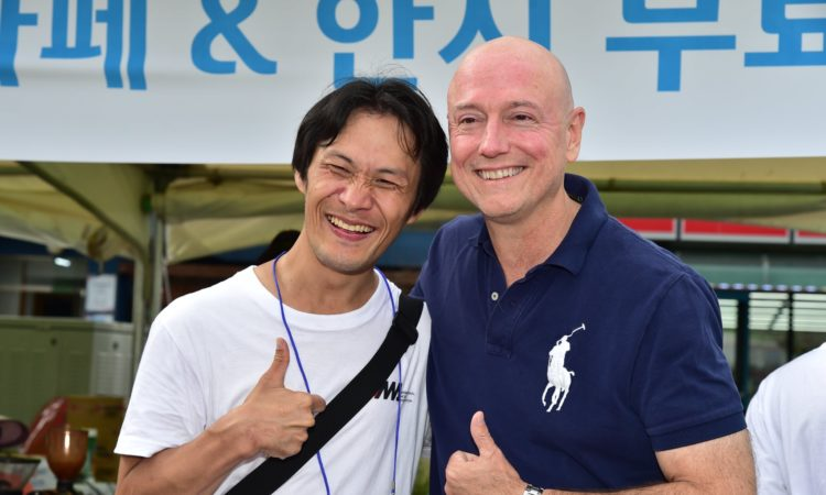September 8, 2018 - Counselor for Public Diplomacy Dale Kreisher participated in the 5th Sokcho International Disability Film Festival, which aims to promote the rights of people living with disabilities and build an equal society through film.
