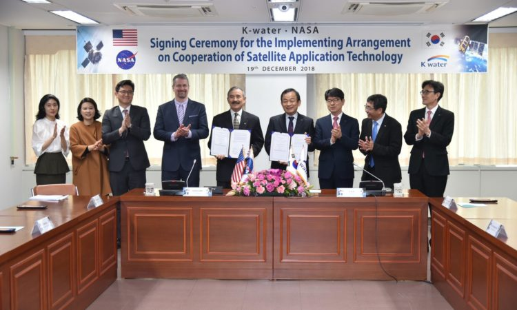 Ambassador Signs MOU to Support the Joint Development of Satellite Technology