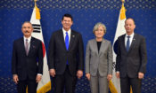 Under Secretary Krach, Assistant Secretary Stilwell and Ambassador Harris Meet with Foreign Minister Kang