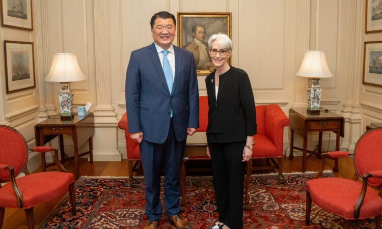 Deputy Secretary Sherman's Meeting with Republic of Korea Vice Foreign Minister Choi