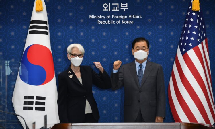 Deputy Secretary Sherman's Meeting with Republic of Korea Foreign Minister Chung