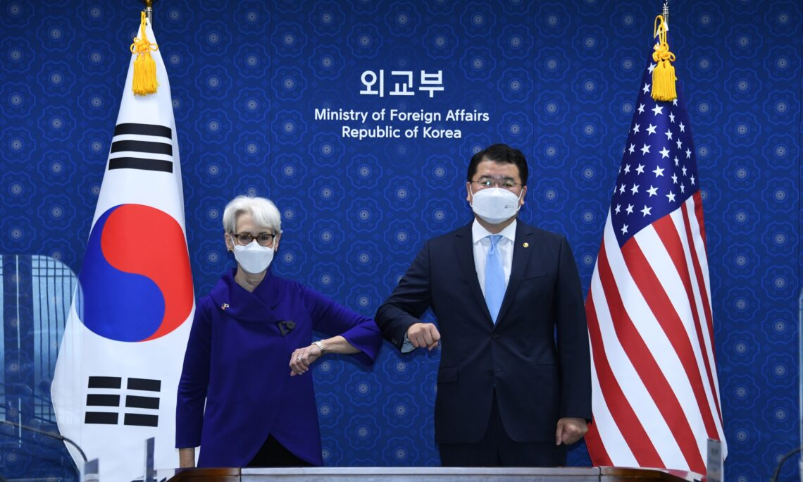 Deputy Secretary Sherman's Meeting with Republic of Korea First Vice Foreign Minister Choi