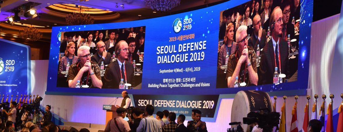 Chargé d'Affaires Rob Rapson Participates the Seoul Defense Dialogue 2019