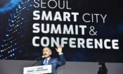October 1, 2019 - Ambassador Harry Harris gave welcoming remarks at the 2019 Seoul Smart City Summit & Conference.