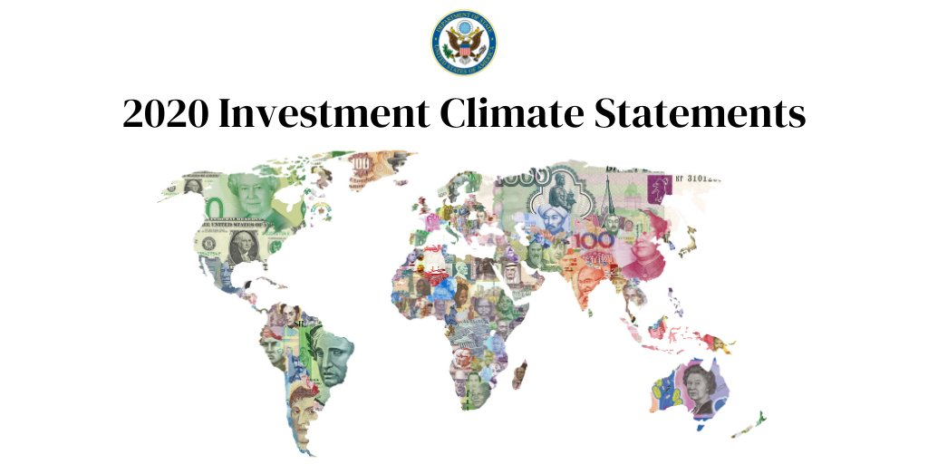 2020 Investment Climate Statements Released