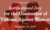 Observance of International Day for the Elimination of Violence Against Women