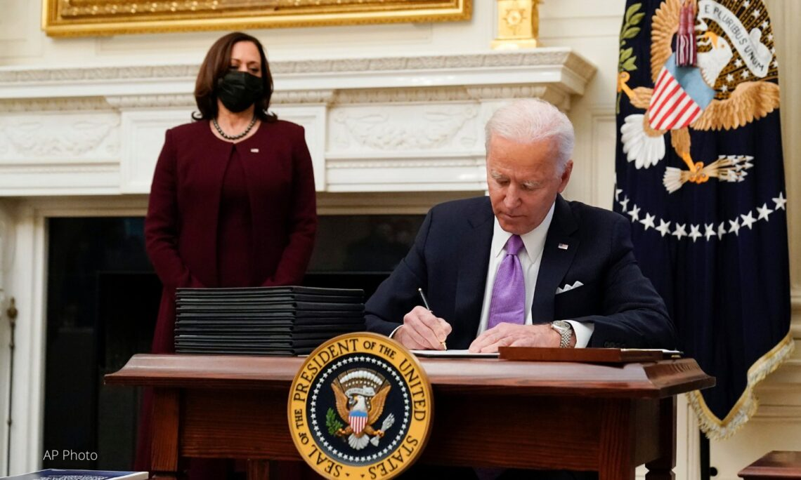 The Biden-Harris Administration Immediate Priorities (AP Image)