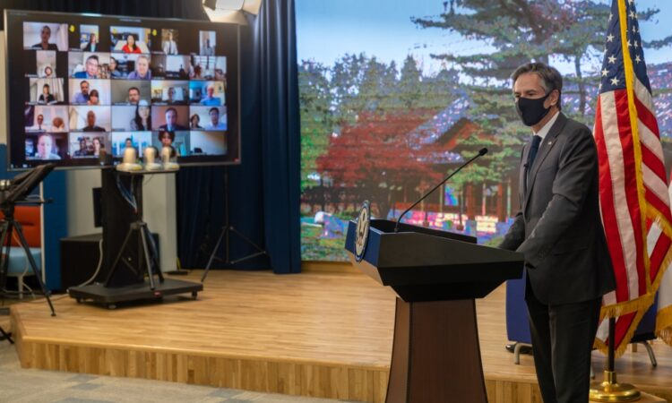 Secretary Antony J. Blinken at Virtual Meet and Greet with Mission Republic of Korea Staff and Family Members