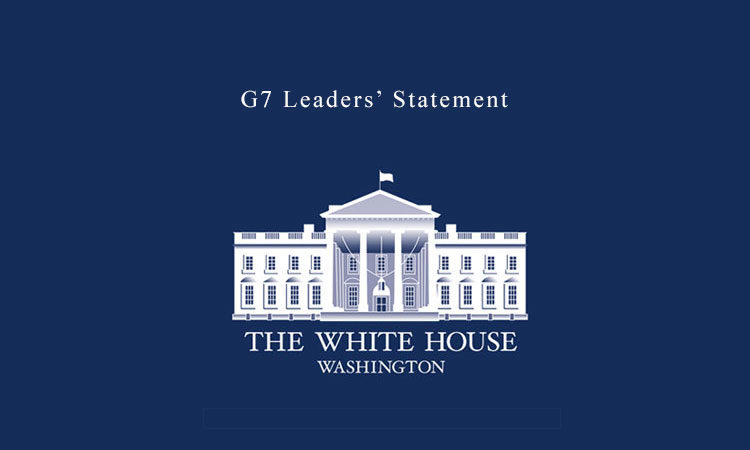 G7 Leaders' Statement