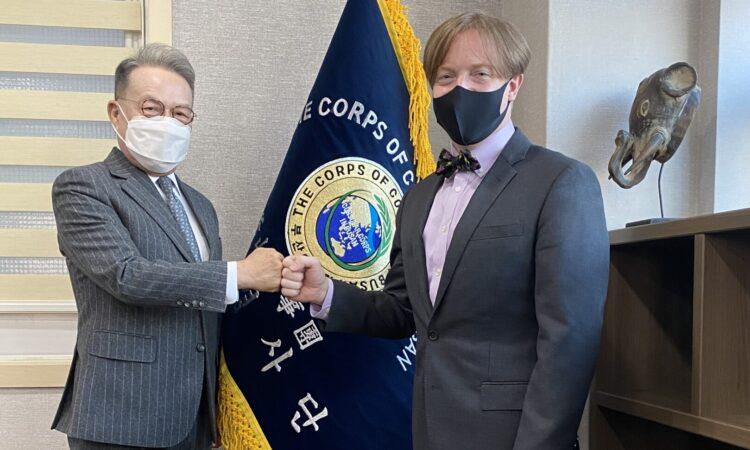 Meeting Consular Corps Dean