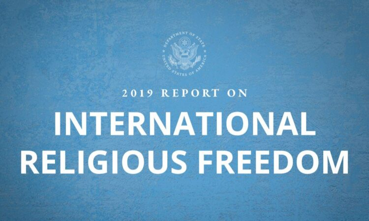 2019 Report on International Religious Freedom