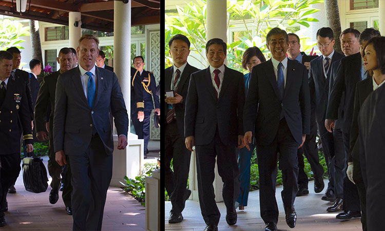 Japan-Republic of Korea-United States Defense Ministerial Meeting Joint Press Statement