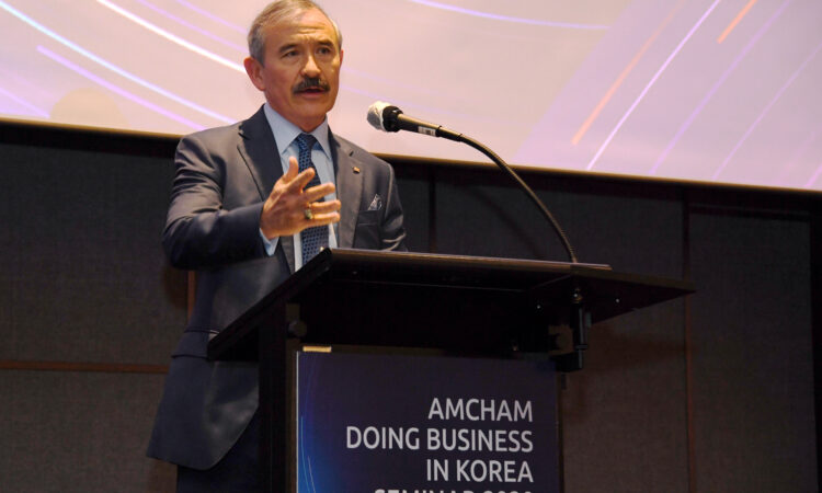 Congratulatory Remarks at AMCHAM Doing Business in America Seminar
