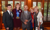 Ambassador Congratulates U.S. Swimmer Katie Ledecky at the Habib House