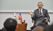 Ambassador Harry Harris delivered a special lecture at Hanyang University where he talked about the U.S.-ROK alliance with students majoring in International Studies.