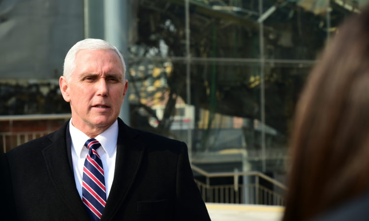 Remarks by Vice President Pence in Press Gaggle at Cheonan Memorial