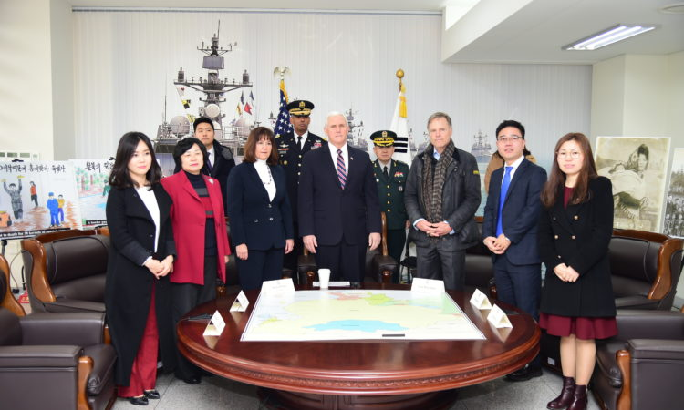 Remarks by Vice President Pence in Meeting with North Korean Defectors