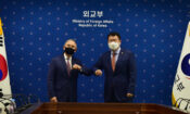 Ambassador Harris Meets New ROK Vice Foreign Minister Choi Jong Kun at MOFA