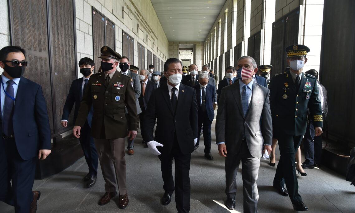 Ambassador Harris Honors the Fallen Heroes of the Korean War