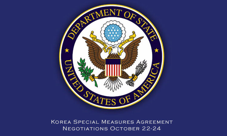 Korea Special Measures Agreement Negotiations October 22-24