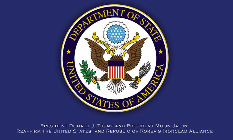 President Donald J. Trump and President Moon Jae-in Reaffirm the United States' and Republic of Korea's Ironclad Alliance