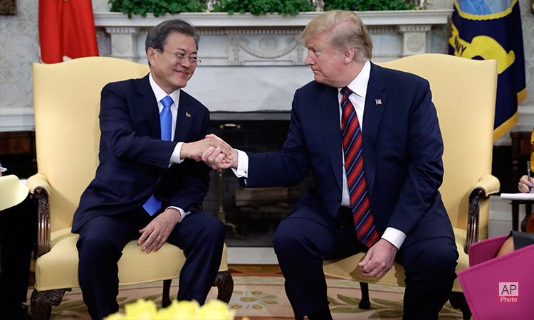 Readout-of-President-Donald-J.-Trump's-Meeting-with-President-Moon-Jae-in-of-the-Republic-of-Korea