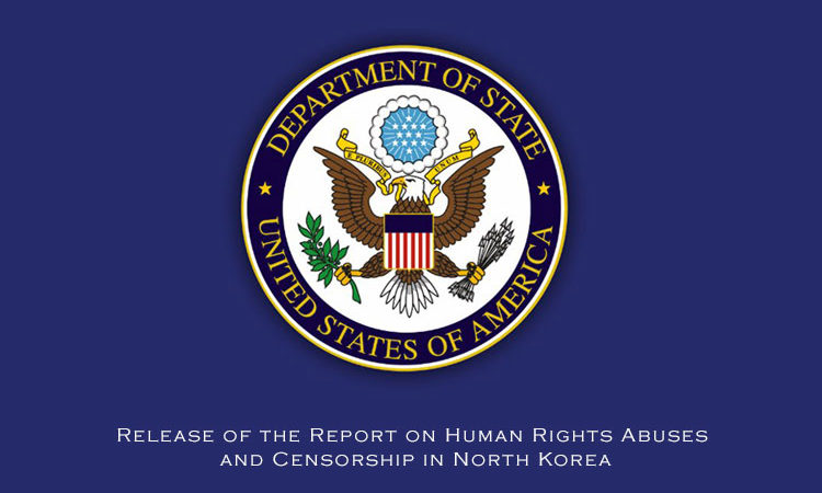 Release of the Report on Human Rights Abuses and Censorship in North Korea