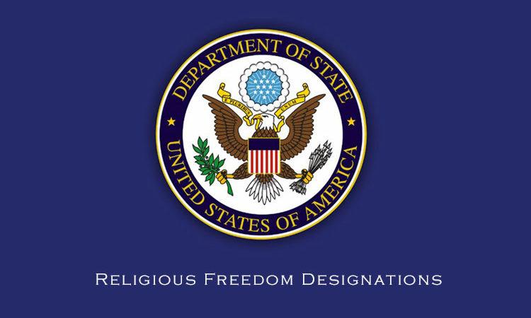 Religious Freedom Designations