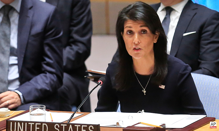 Remarks at an Emergency UN Security Council Briefing on North Korea (AP Photo)