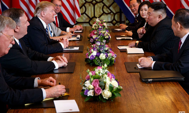 Remarks by President Trump and Chairman Kim Jong Un of the Democratic People's Republic of Korea Before Expanded Bilateral Meeting