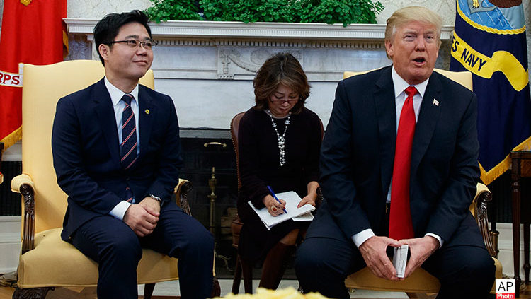 Excerpts from Remarks by President Trump in Meeting with North Korean Defectors