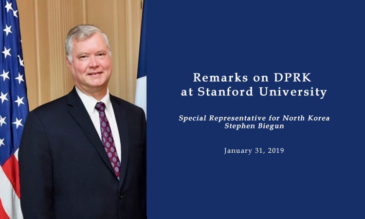 Remarks on DPRK at Stanford University