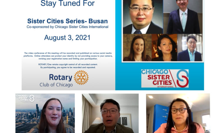 Diplomatic Support for Busan-Chicago Sister City Relationship