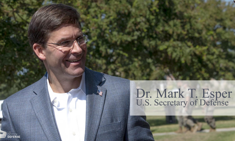 Secretary Esper Travels to South Korea, Thailand, Philippines, and Vietnam