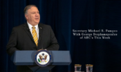 Secretary Michael R. Pompeo With George Stephanopoulos of ABC's This Week