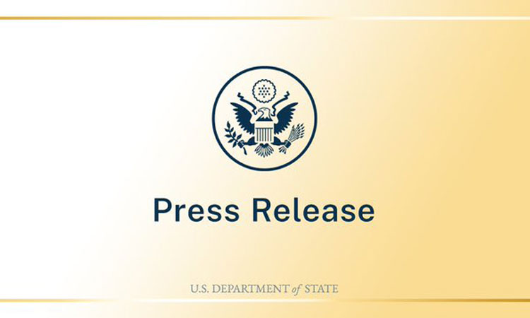 State Department - Press Release