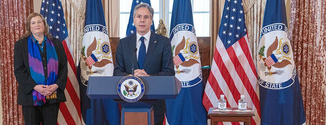 Secretary Blinken Delivers Remarks on the 2021 Trafficking in Persons Report