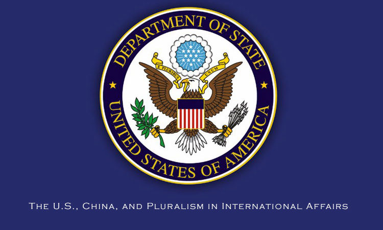 The U.S., China, and Pluralism in International Affairs