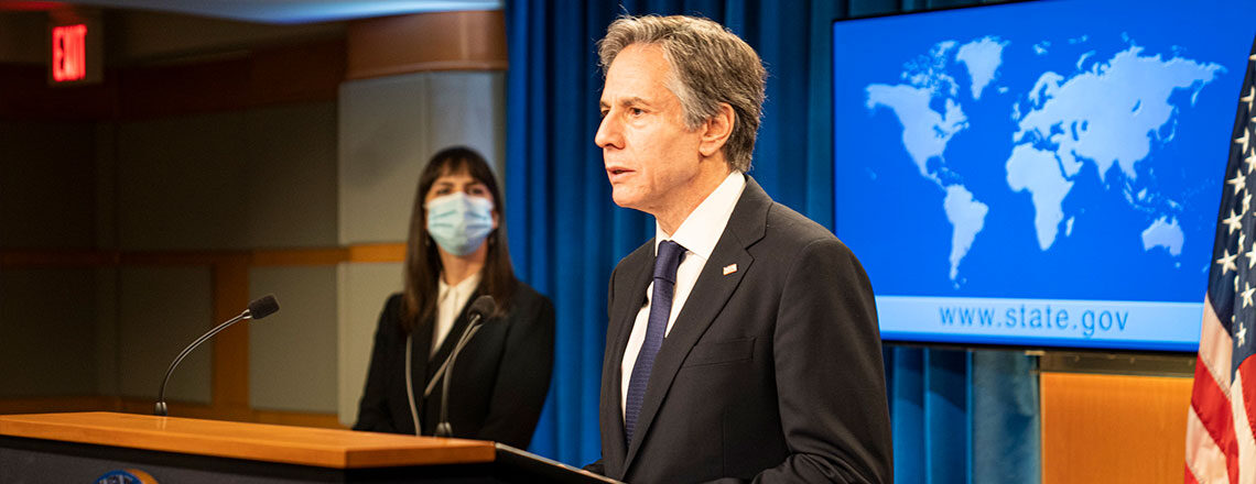 Secretary Blinken Delivers Remarks on the 2020 Country Reports on Human Rights Practices