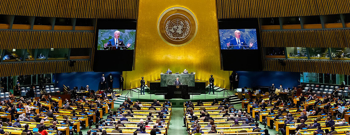 Remarks by President Biden Before the 76th Session of the United Nations General Assembly