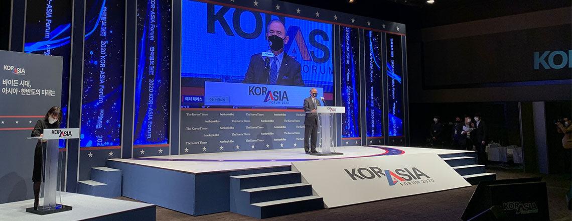 Ambassador Harry Harris Remarks at KOR-ASIA FORUM 2020