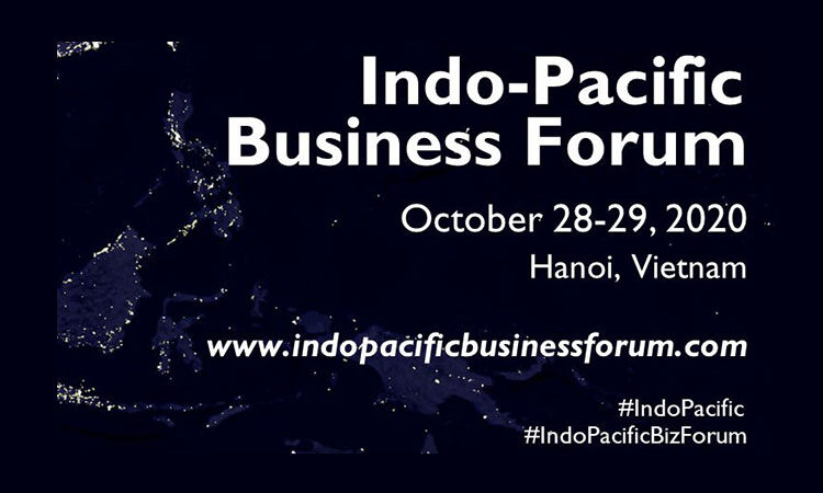 Registration for the 2020 Virtual Indo-Pacific Business Forum Is Open