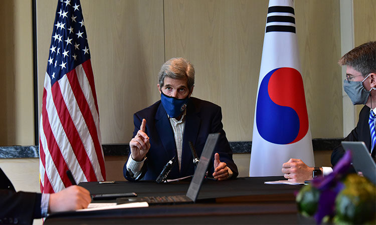 Special Presidential Envoy for Climate John Kerry Media Roundtable