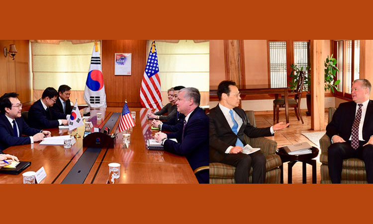 Special Representative Biegun Meets ROK and Japanese Counterparts on DPRK